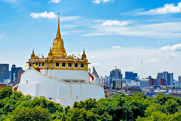 Wat Saket Golden Mount Bangkok